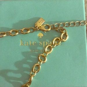 Gold chain necklace *Kate Spade* ♠️